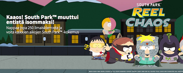 South Park: Reel Chaos tarjous